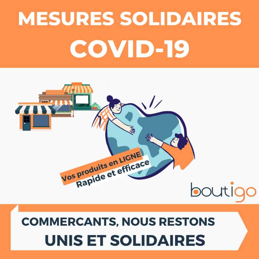 mesures solidaires COVID 19