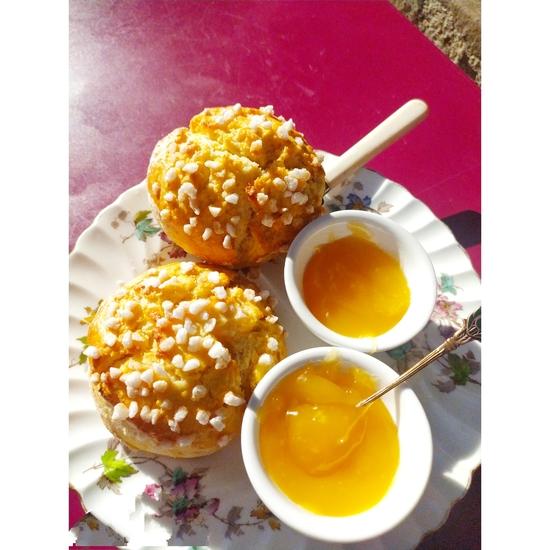 Le Simple Simon: un petit bout d'Angleterre  en Avignon. Délicieuses pâtisseries anglaises à consommer sur place ou à emporter.
