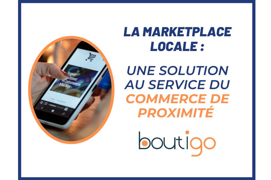 Illustration de présentation : la marketplace locale est une solution pour le commerce de proximité